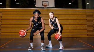 Hélios Basket: Alexia Dizeko et Virginie Bruchez, leur première finale chez «les grandes»