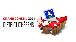 Cantonales 2021: les candidates et candidats au Grand Conseil du district d'Hérens
