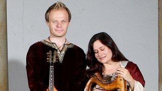 La troupe médiévale sédunoise Res Temporis en concert en direct à la radio avec Hirundo Maris