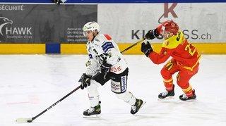 Hockey: battu à Olten, le HC Sierre se retrouve mené 2-0 dans sa série