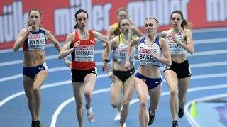 Athlétisme: Lore Hoffmann disputera la finale du 800 mètres des championnats d'Europe