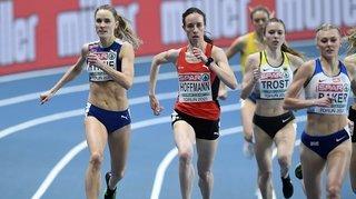 Athlétisme: «J'ai commis une petite erreur tactique», regrette Lore Hoffmann