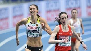 Athlétisme: Lore Hoffmann a terminé cinquième du 800 mètres des Européens en salle