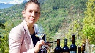 Des vins présentés dans son salon par une sommelière