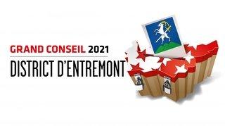 Cantonales 2021: les candidates et candidats au Grand Conseil du district d'Entremont
