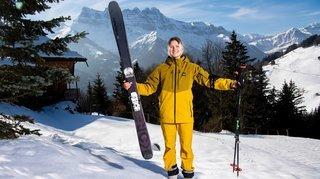 Freeride: la Morginoise Marie Bovard vit un hiver enrichissant malgré l'annulation en série des compétitions