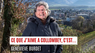 «Ce que j'aime à Collombey, c'est…»
