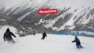 Lancement #enpistes Arolla | 20.03.2021