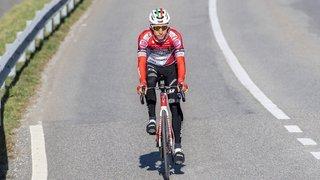 Cyclisme: l'équipe nationale, avec le Valaisan Simon Pellaud, disputera le Tour de Romandie