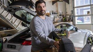 Nos artisans ont du talent: Romain Lugon, le garnisseur qui donne une nouvelle peau aux véhicules