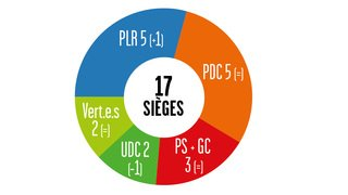 Cantonales 2021: dans le district de Sierre, le PLR a le sourire, le PDC est mitigé