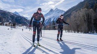 En Valais, le ski nordique veut faire sa trace
