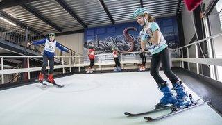 A Saillon, on peut skier toute l'année. Une installation indoor unique en Suisse
