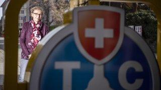 Une Valaisanne copilote du plus grand club de mobilité de Suisse. Rencontre avec Fabienne Bernard