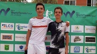 Tennis: Thomas Mathys et Adrien Berrut font leur entrée dans le classement mondial junior