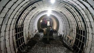 A9 Haut-Valais: le tunnel du Riedberg est percé