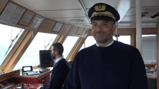 Portrait: Mathias Gay-Crosier, capitaine valaisan de la CGN. Un marin d'eau douce sur le Léman