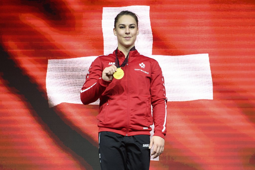 gold for Giulia Steingruber in …