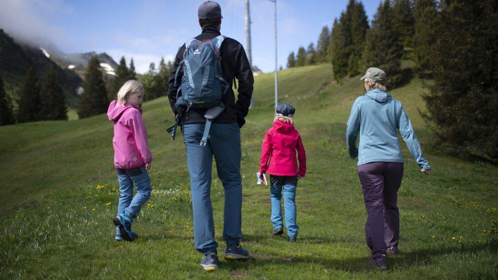 En Suisse, près d'un ménage sur trois compte des enfants de moins de 25 ans. (illustration)