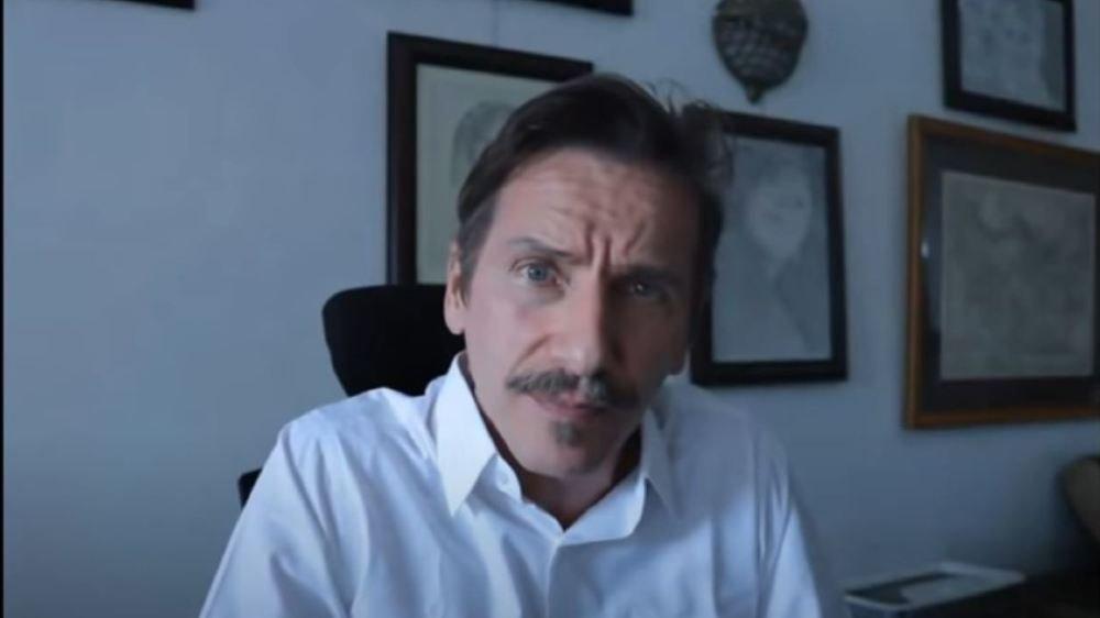 Rémy Daillet dans une de ses vidéos.