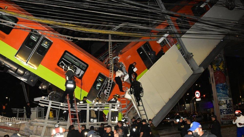 La ligne 12 a été inaugurée le 30 octobre 2012. Il s'agit du second accident du métro de Mexico depuis le début de l'année.