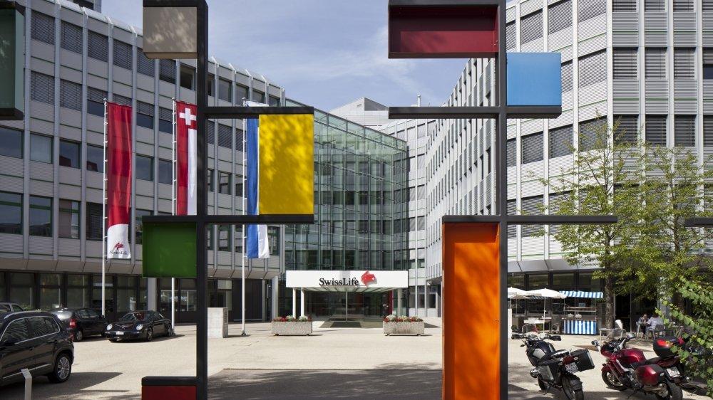 Les bureaux de l'assureur Swiss Life à la Grubenstrasse à Zurich.
