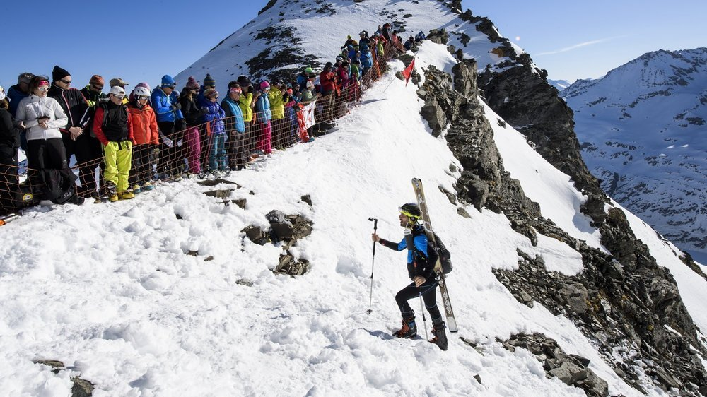 Le passage à la Rosablanche, l'un des secteurs les plus prisés du parcours de la Patrouille des glaciers, accueillera-t-il d'autres épreuves?
