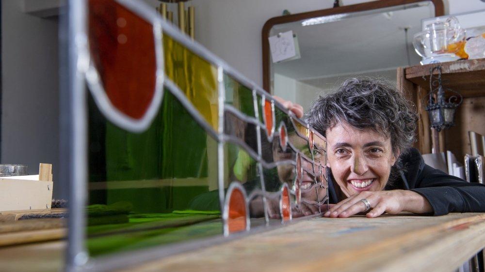 Françoise Delavy-Bruchez fait parler le verre en mêlant art et artisanat.
