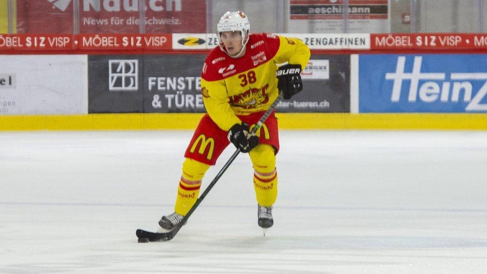 Guillaume Asselin a réalisé 66 points cet hiver avec le HC Sierre.