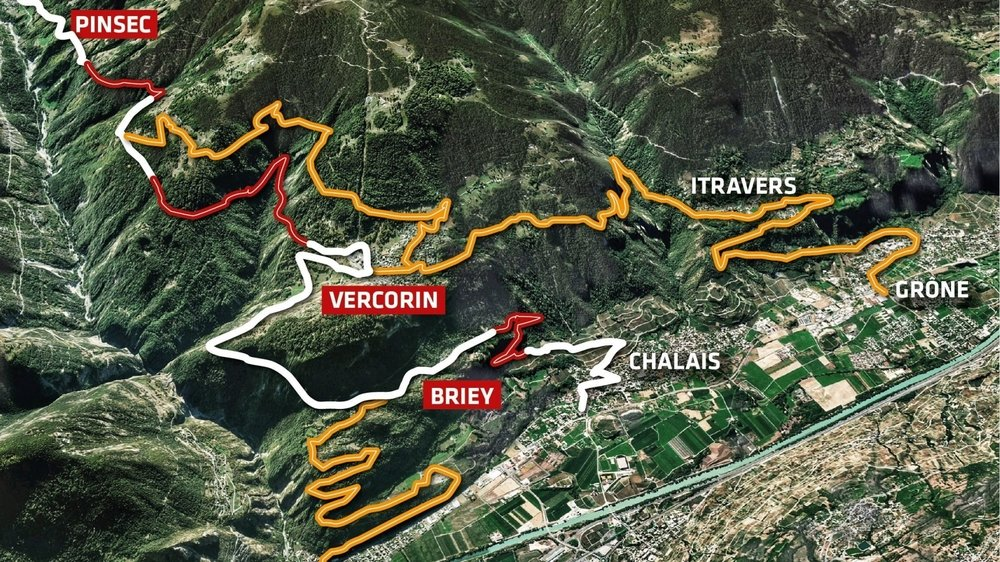 Dès lundi et pour les mois à venir, trois tronçons rattachés au réseau des routes cantonales et situés sur les communes de Chalais et Anniviers seront fermés à la circulation en raison de travaux.