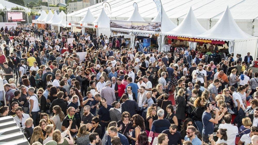La foule à la Foire du Valais en 2019. Après l'annulation de la Foire 2020, reverra-t-on cette image en 2021 ?