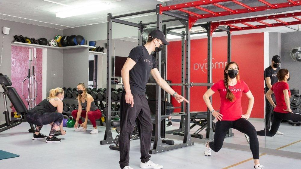Les adeptes de fitness ont retrouvé leur salle favorite ce lundi.