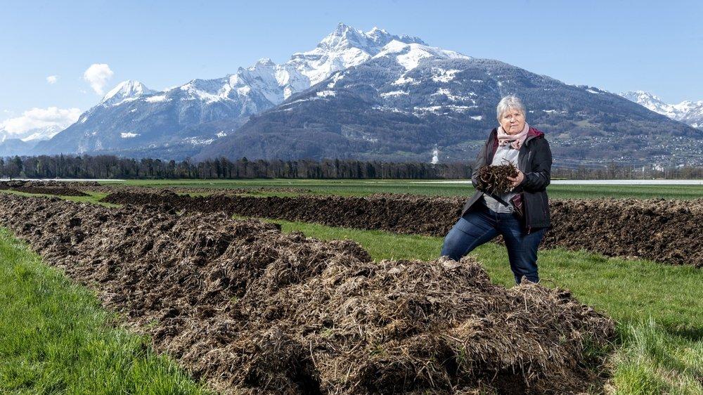 Agnès Gerber recherche actuellement un repreneur pour leur entreprise de lombriculture.