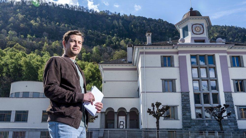 Fraîchement élu à la présidence de Grône, Antoine Fournier empoigne le dossier de la ligne THT à bras-le-corps.