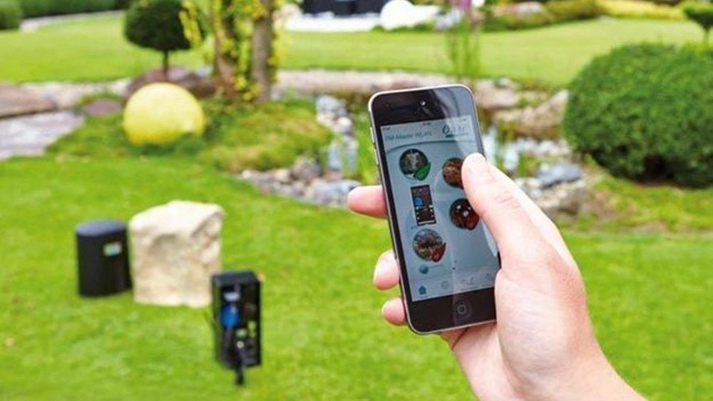 Main verte et objets connectés, la recette miracle pour pour un jardin réussi.