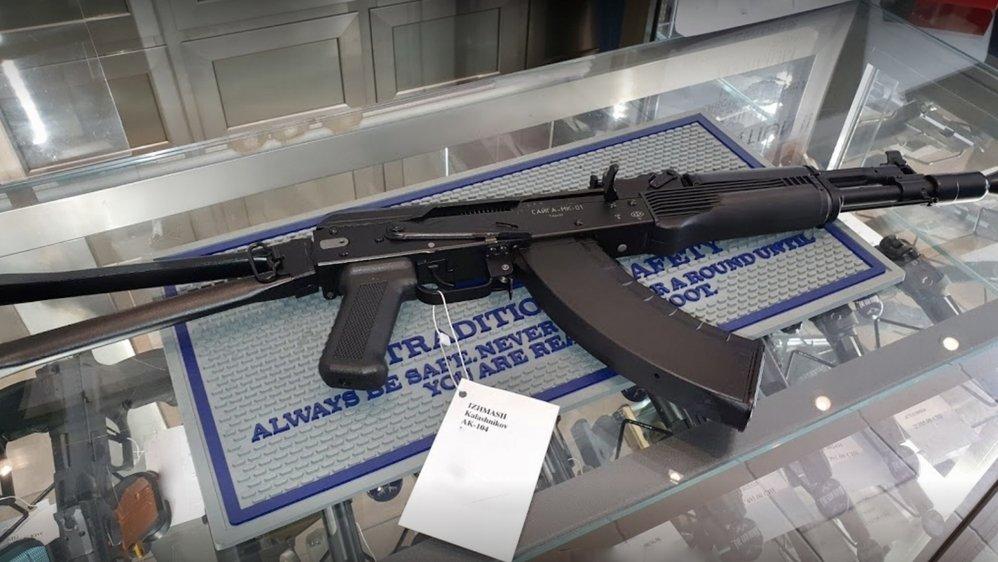 Réputé, le commerce sédunois cambriolé vend de nombreux types d'arme, dont des kalashnikov.