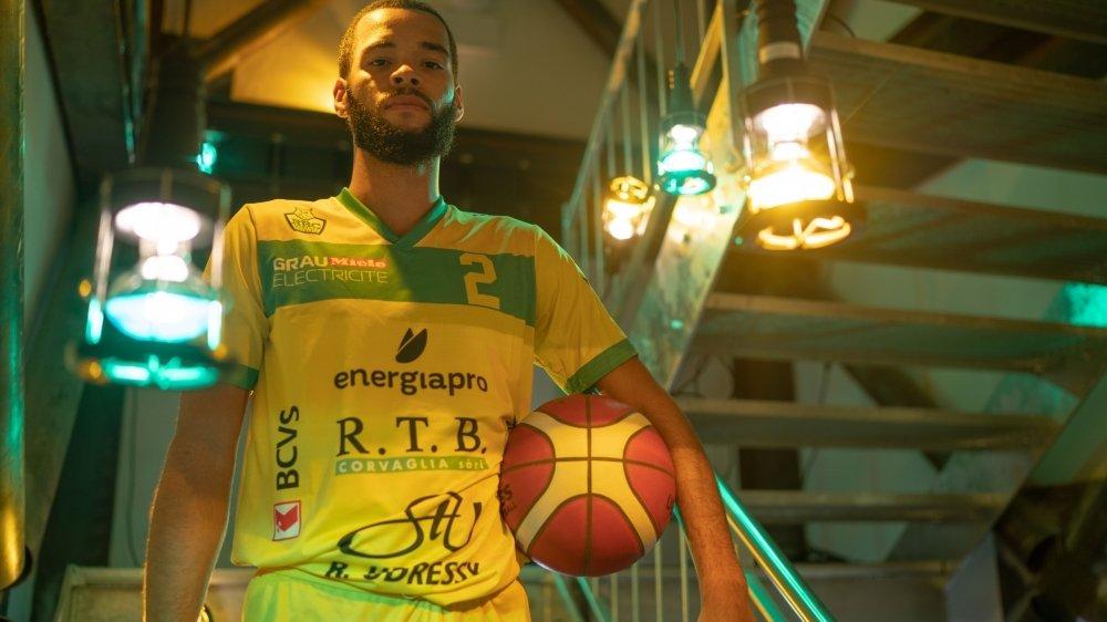 Marlon Kessler vit sa deuxième saison à Monthey, sa quatrième en Suisse après avoir évolué deux ans avec Boncourt.