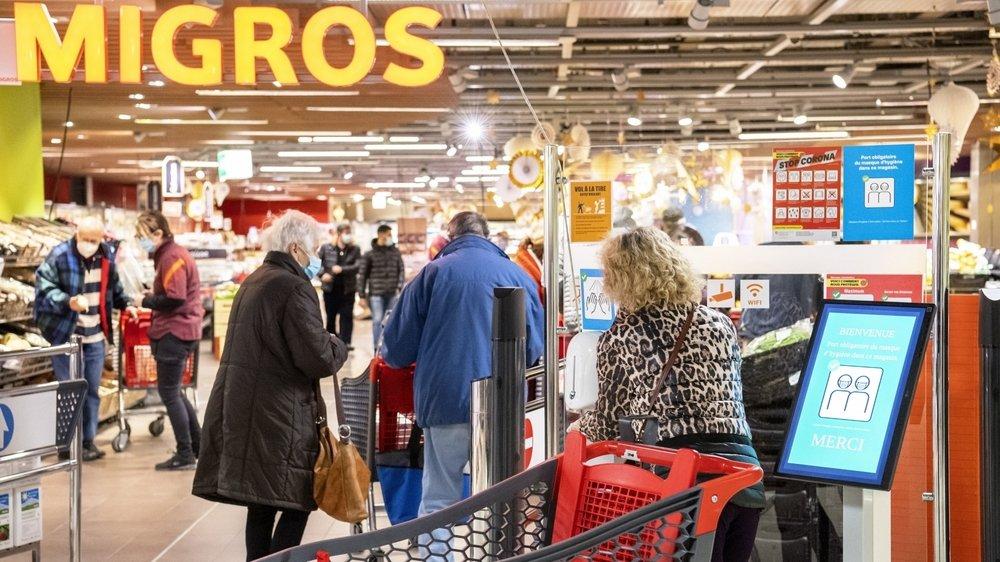Le coronavirus a provoqué de nombreux désagréments pour les commerces, mais Migros Valais n'en réalise pas moins un chiffre d'affaires en hausse en 2020.