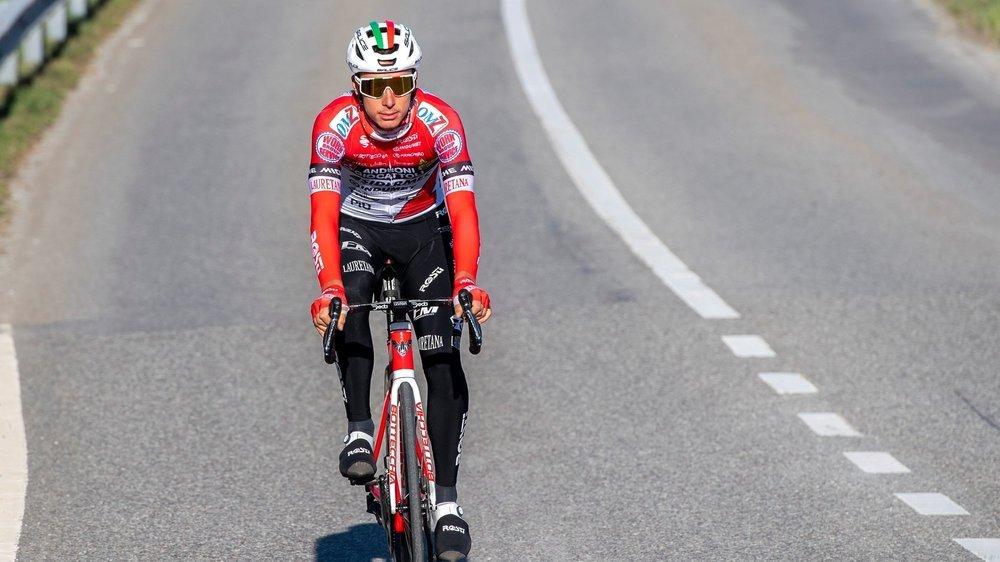 Simon Pellaud espère bien retrouver la route, en compétition, au plus vite.