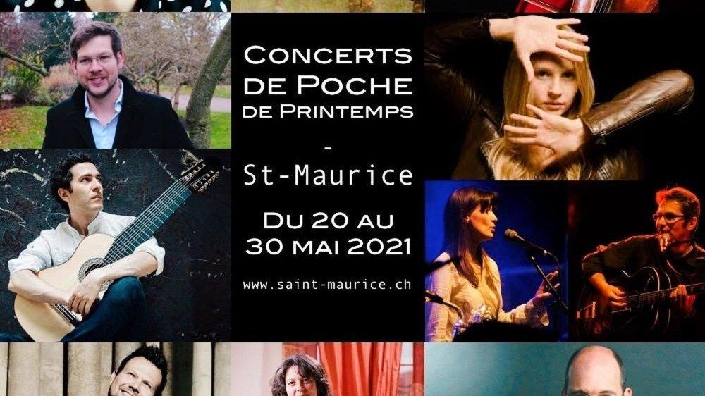 Célina Ramsauer, Dimitar Ivanov ou encore Elise Lehec sont parmi les artistes à se produire à Saint-Maurice.