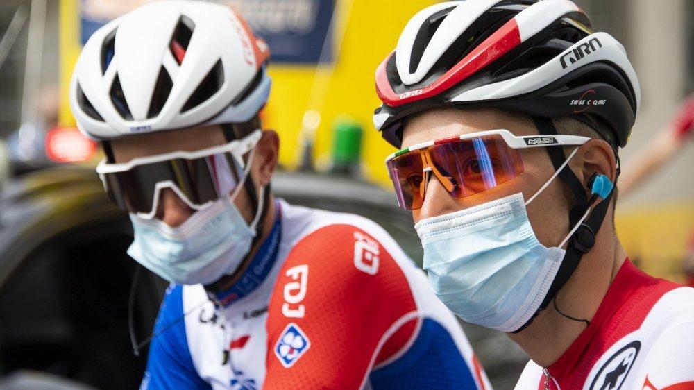 Sébastien Reichenbach et Simon Pellaud sortent tous les deux du Tour de Romandie.