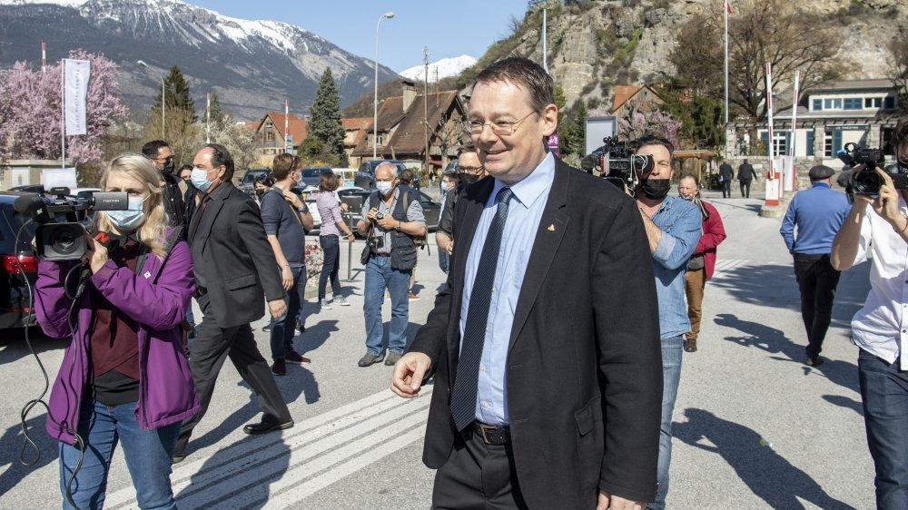 Franz Ruppen est le seul candidat a avoir progressé entre les deux tours.