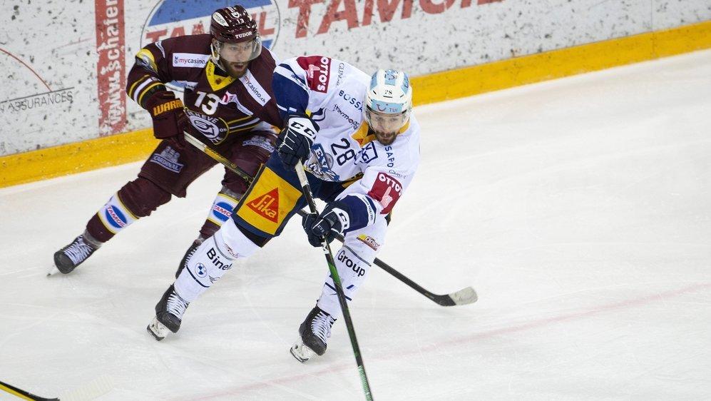 Mathieu Vouillamoz et Genève Servette ont laissé filer Yannick-Lennart Albrecht et Zoug.