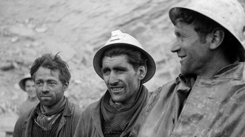 Bieudron: il y a 65 ans, 3 Valaisans coincés dans une mine offrent une belle frayeur à tout le canton