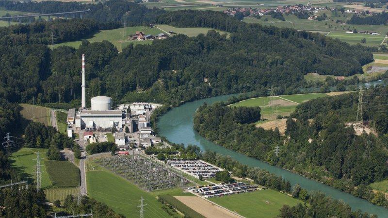Le site de Mühleberg se situe sur les rives bernoises de l'Aar.