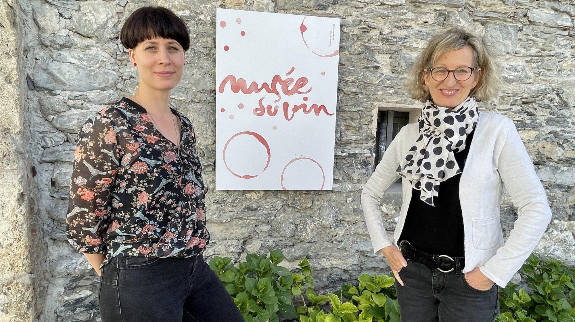 Delphine Niederberger, nouvelle directrice du Musée du vin de Sierre-Salgesch