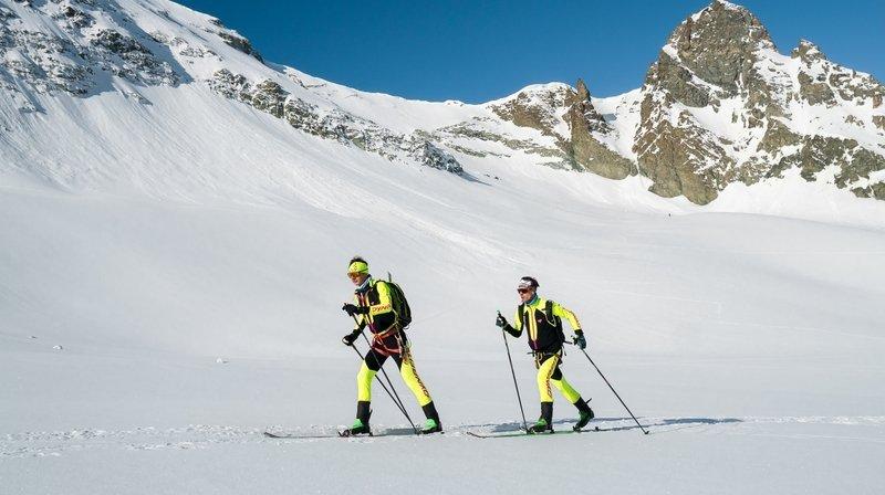 De Chamonix à Zermatt à pied et à skis, l'exploit de Julien Ançay et Pascal Egli