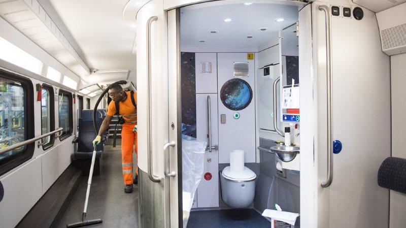 Le personnel des CFF s'occupera des travaux de nettoyage dans les gares fréquentées par plus de 80% des voyageurs. (illustration)