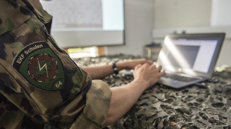 L'armée suisse a présenté mardi sa nouvelle stratégie pour se protéger dans le cyberespace.