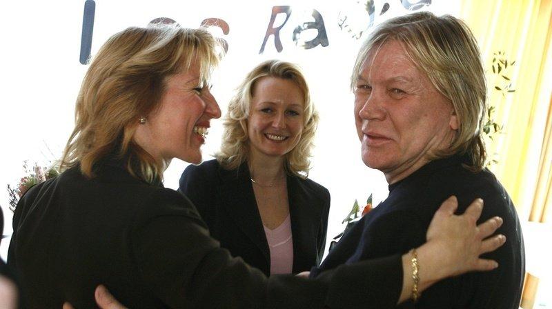 Patrick Juvet, à droite sur la photo, est né à Montreux.